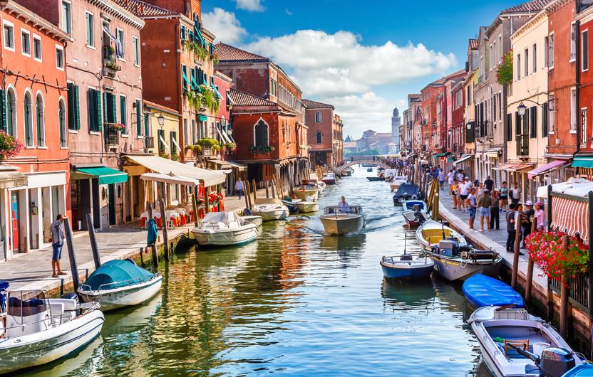 Island of Murano in Venice, Italy. 00743