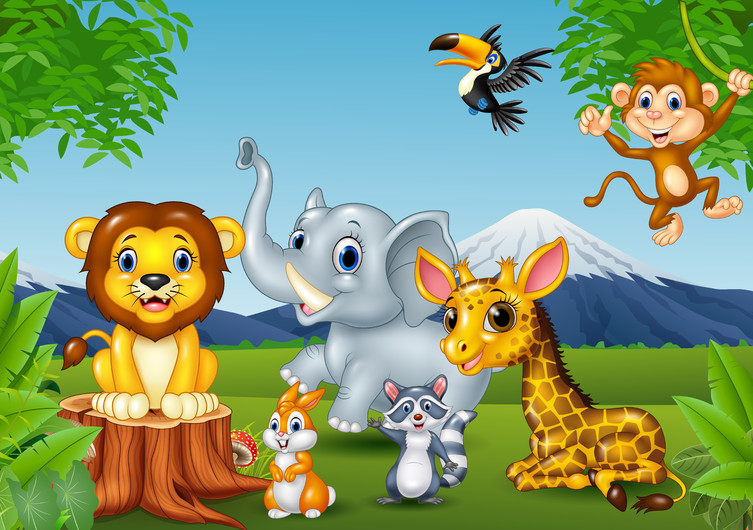 Jungle animal 00193