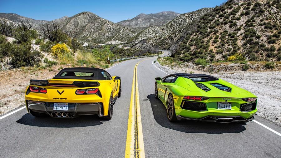 Lamborghini .VS. Chevrolet 00009VG