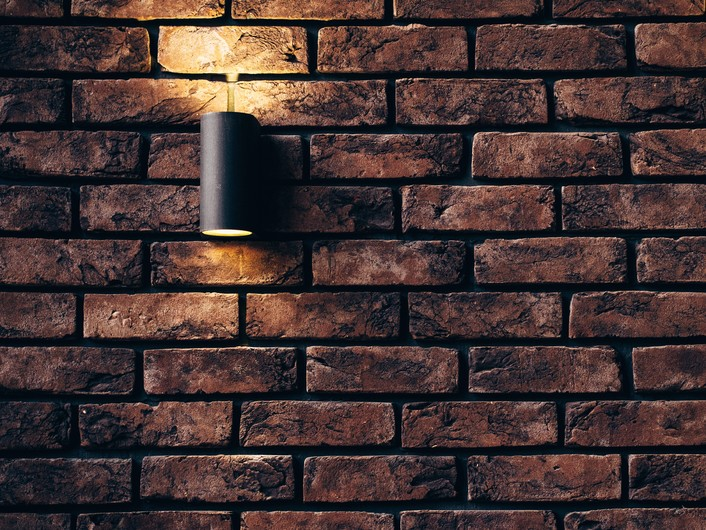 Lamp on the wall 00697