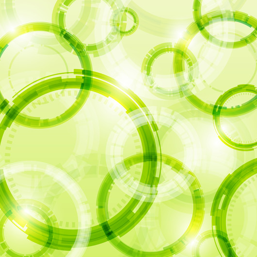Light green abstraction 00383