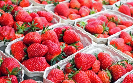 Lot of strawberries 00673