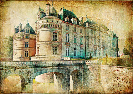 Medieval castles of old France  00466