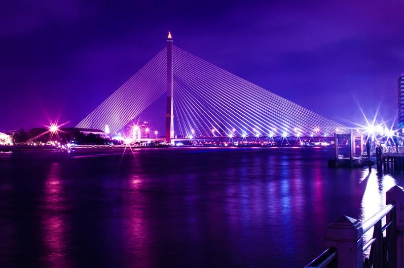 Mega bridge, Rama 8 Thailand 00959