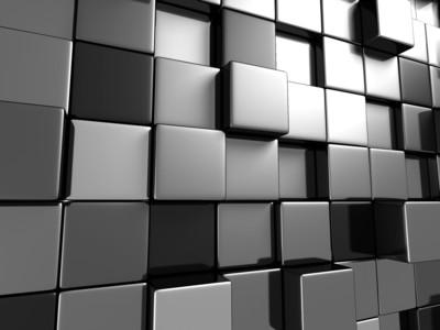 Metal Cubes 3D 00992