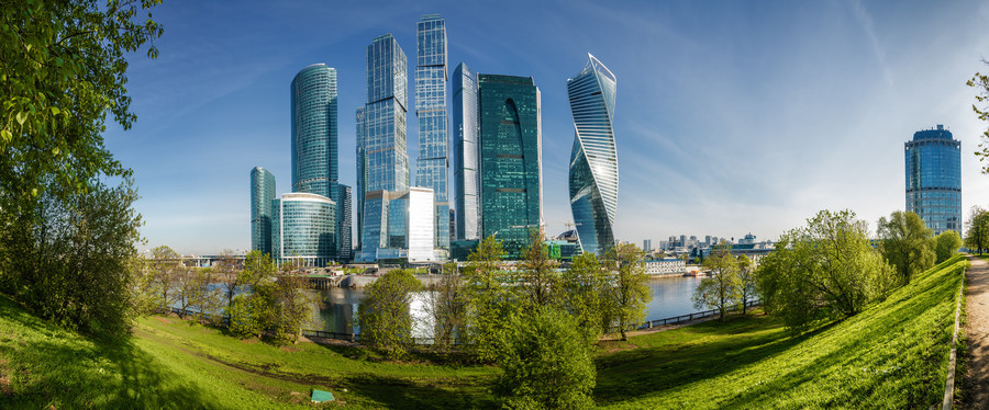 Morning Moscow-City 00753