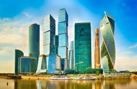 Moscow City skyline 00783