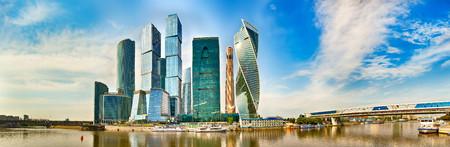 Moscow city skyline 00784