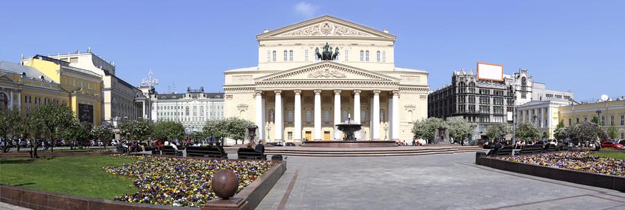 Moscow. Bolshoi theatre 00748