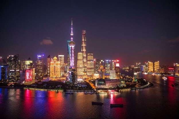Ночной Шанхай 01347
