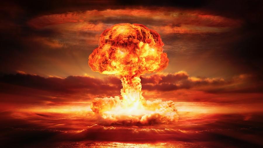 Nuclear explosion 00034VG