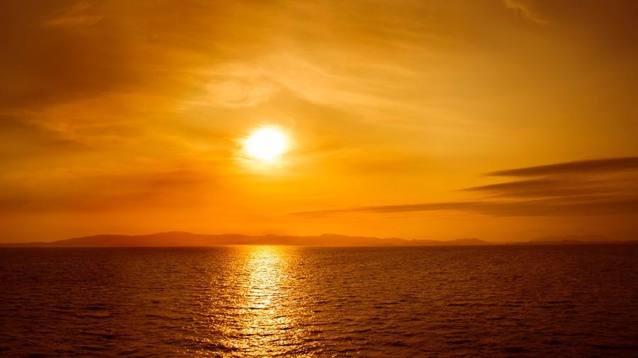 Orange sun 00057VG