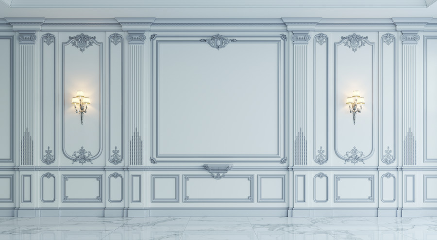 Panels in classical style 00392
