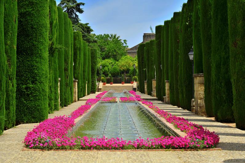 Patio de Los Reyes in gardens 00941