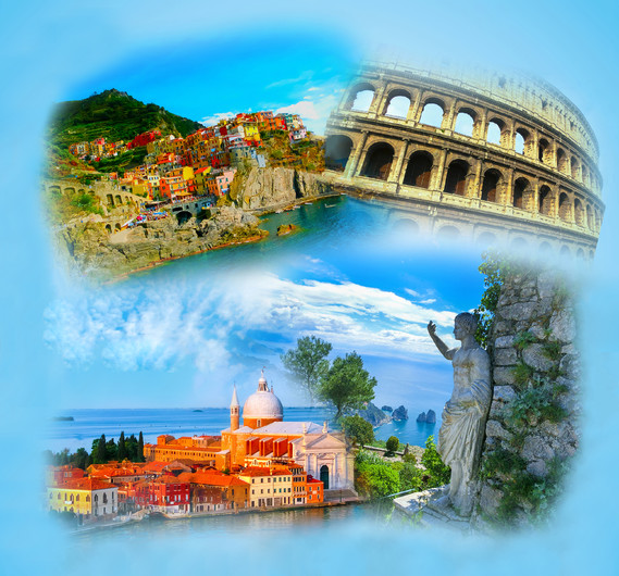 Photo Collage Of Italy 00419