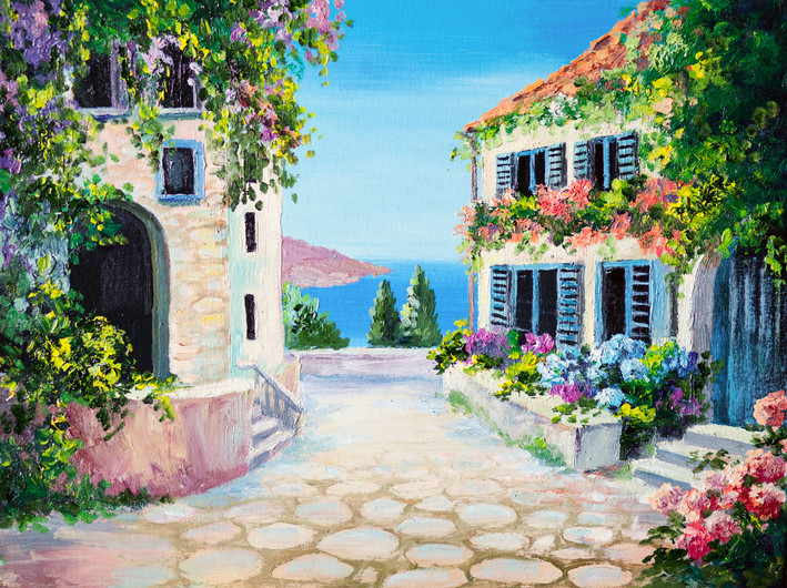 Picture - house by the sea 00473