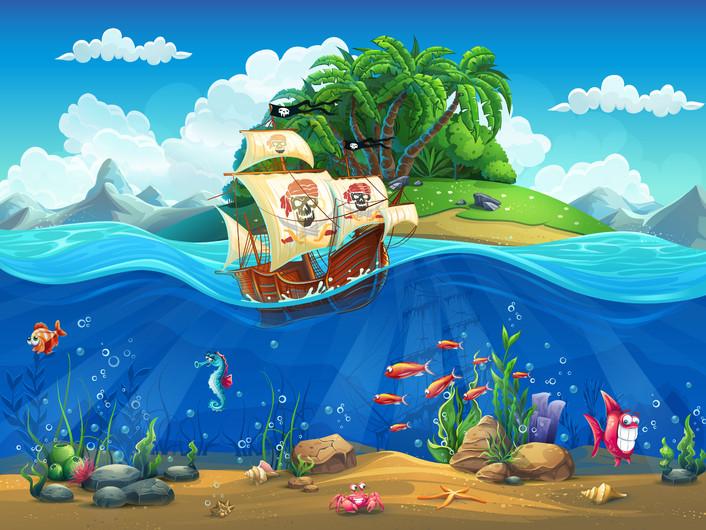 Pirate ship 00175