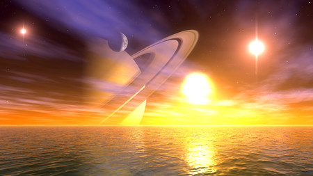 Planet scape 00914