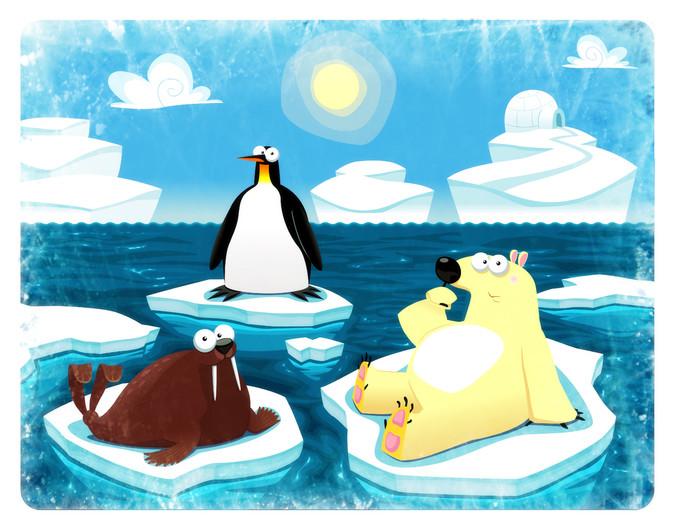 Polar scene 00939