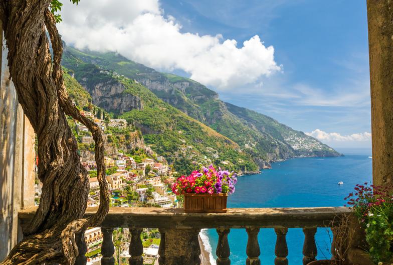 Positano from Italy 00194