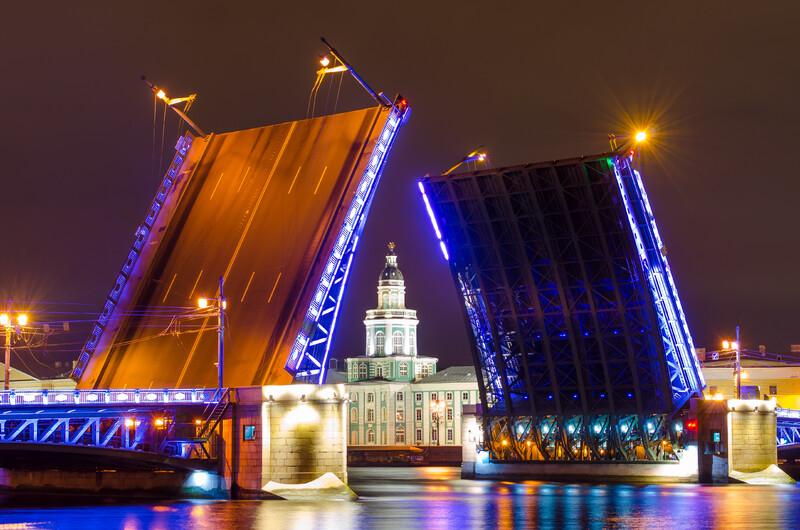 Разводной мост 01439