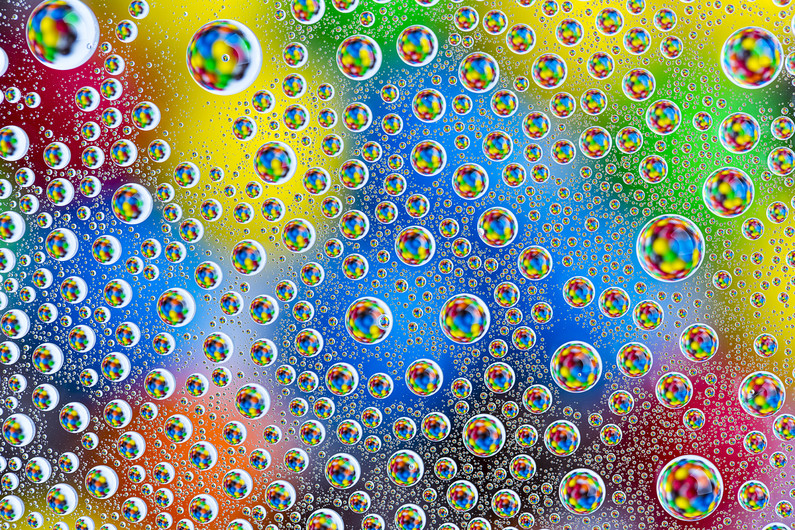 Refraction water droplets 00798