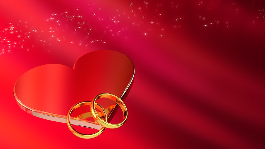 Ring heart 00703