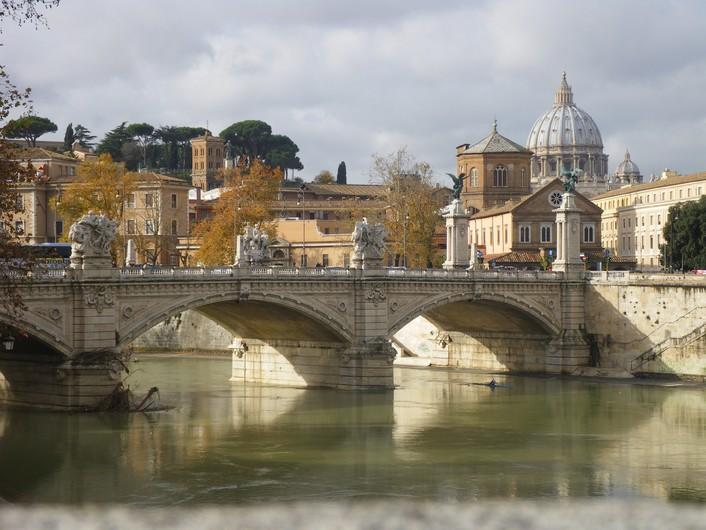 Rome bridge 00627