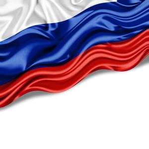 Russia flag 00302