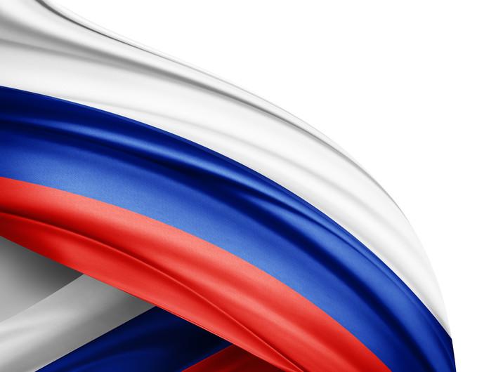 Russia flag 00305