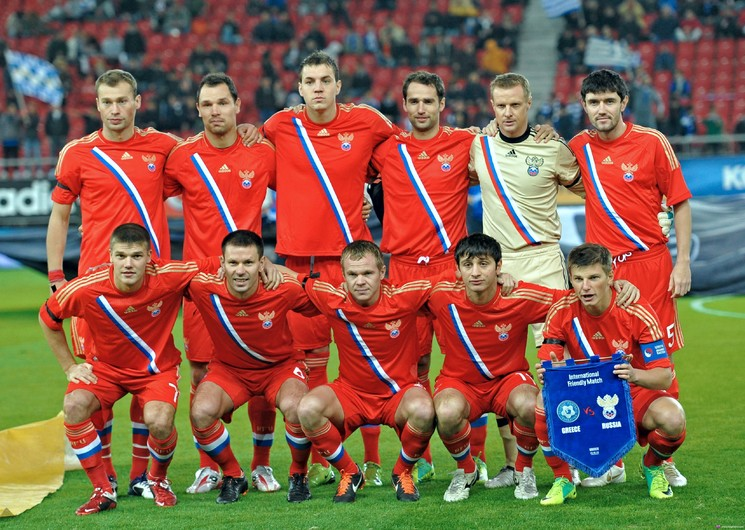 Russian national team 00122VG