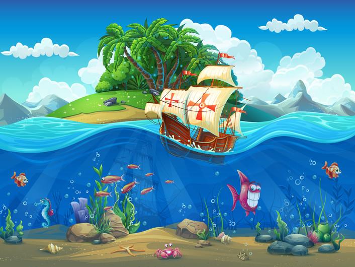 Sailing ship 00183