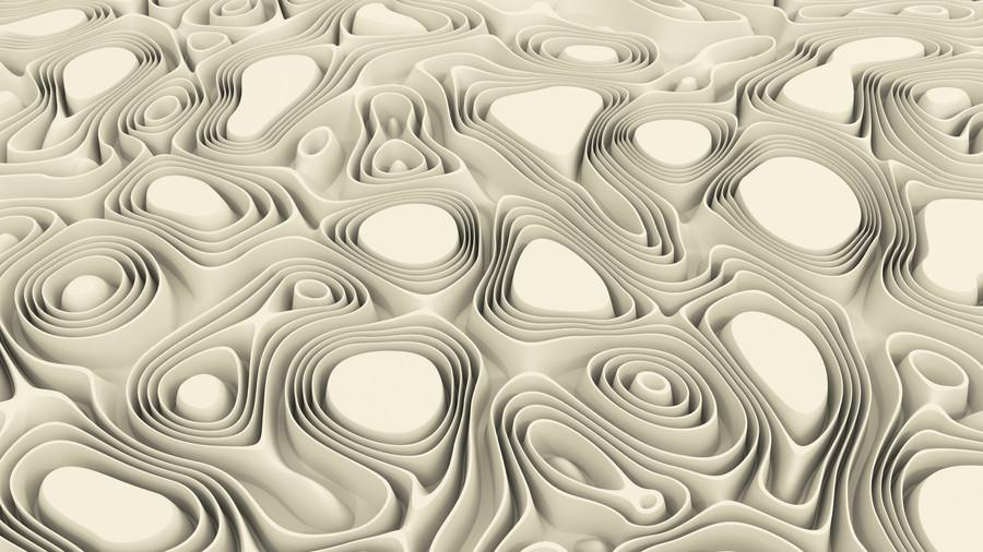 Sand surface 3D 00892