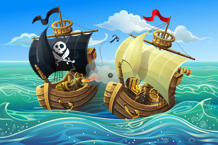 Sea battle 00206