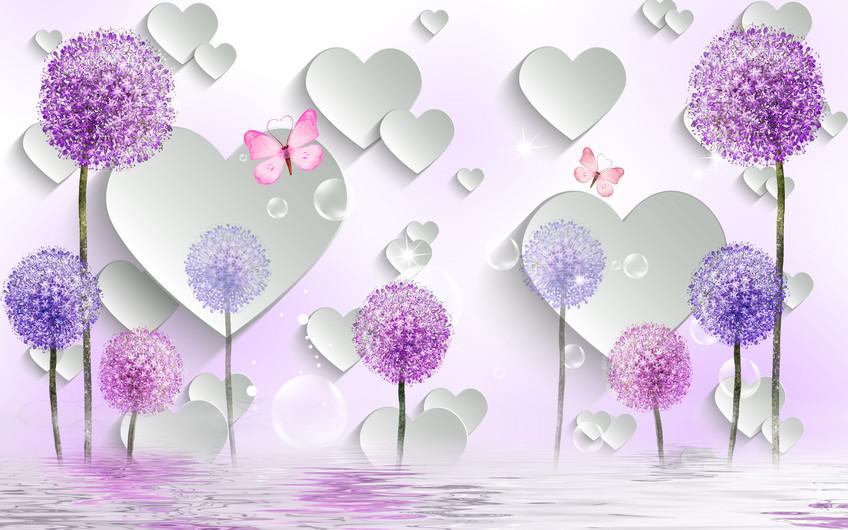 сердца и одуванчики 01202