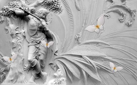 Барельеф Танцовщица 01552