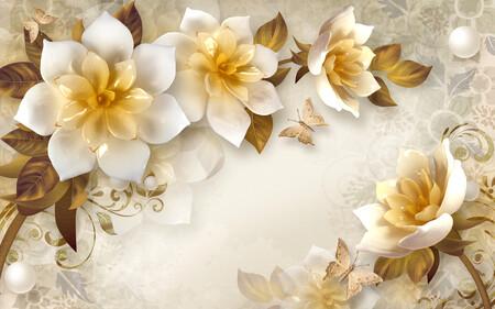 Мраморные Цветы 01541