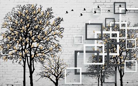 Деревья 3D 01550