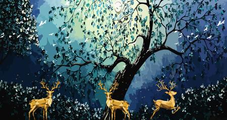 Лесной Олень 01532