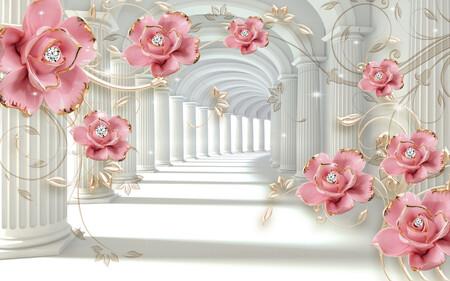 Цветочный Тоннель 01540
