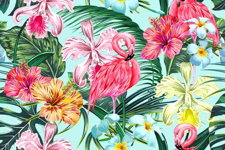 Розовый Фламинго 01538