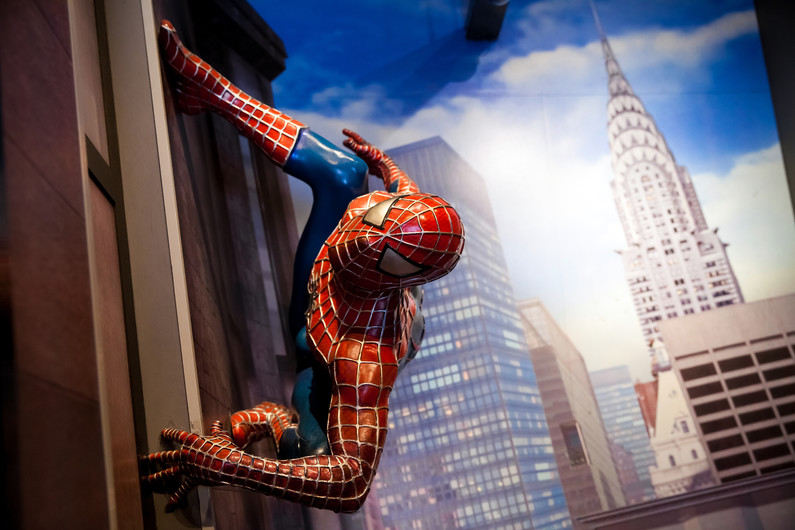Spider-man in new York city 00192
