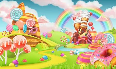 Sweet candy land 3D 00890