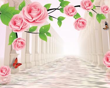цветочная аллея 01134