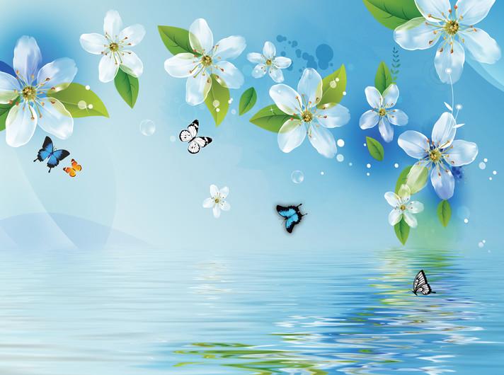 цветы и бабочки 01078