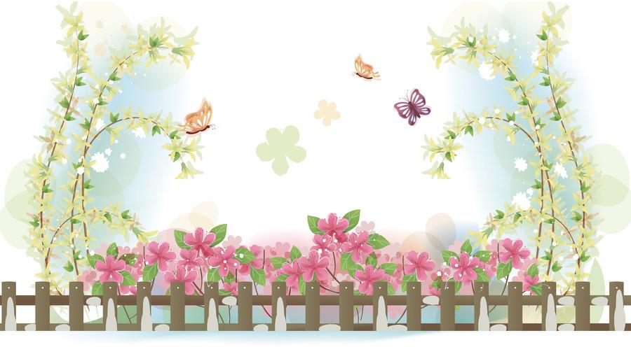 цветы и бабочки 01092