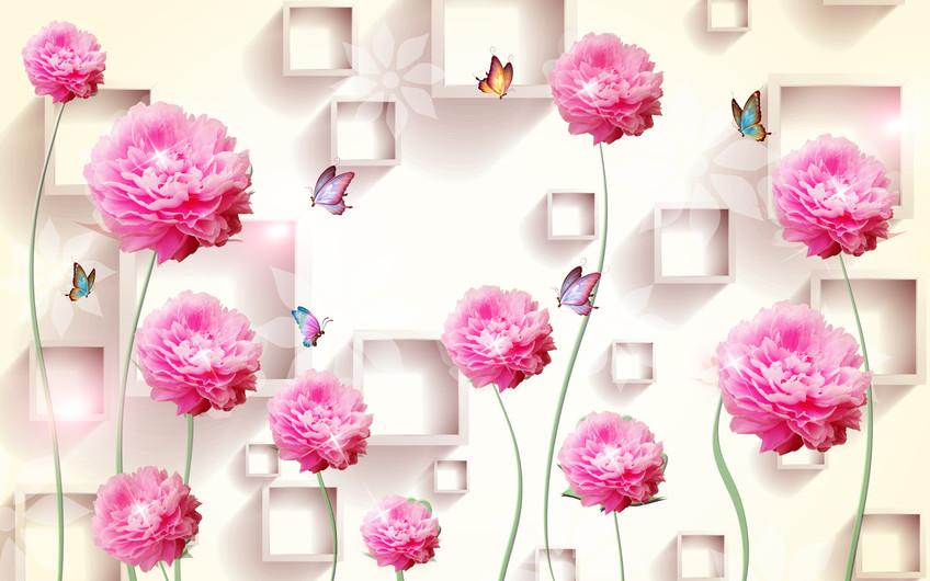 цветы и бабочки 01215