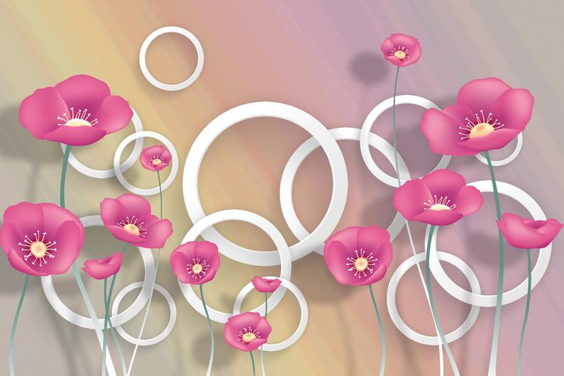 цветы и круги 01212