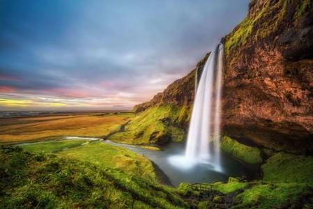 Водопад 01345