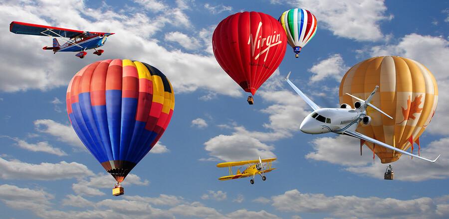 воздушные шары 01383